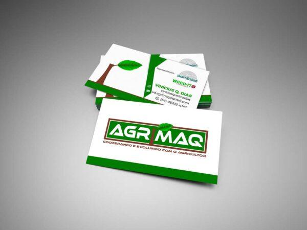 Criação de cartão de visita para empresa de Tecnologias Agrícolas
