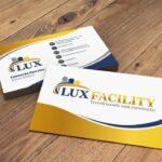 Criação de cartão de visita para empresa de terceirização de serviços