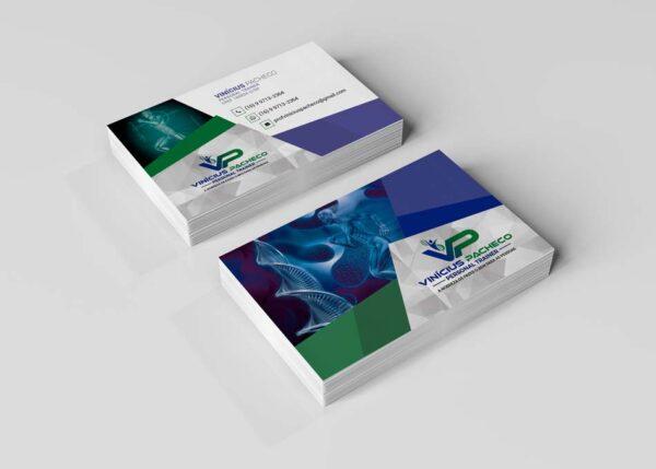 Criação de cartão de visita para personal trainer