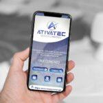 Criação de cartão digital para empresa de instalação de equipamentos industriais e comerciais
