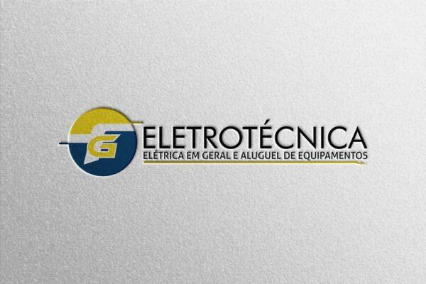 Criação de logo para empresa de elétrica em geral e aluguel de equipamentos
