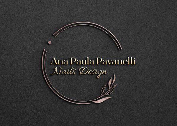 Criação de logo para empresa de nails design