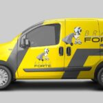 Criação de logo para empresa do ramo logístico