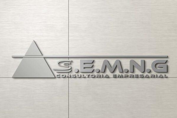 Criação de logomarca para empresa de consultoria empresarial