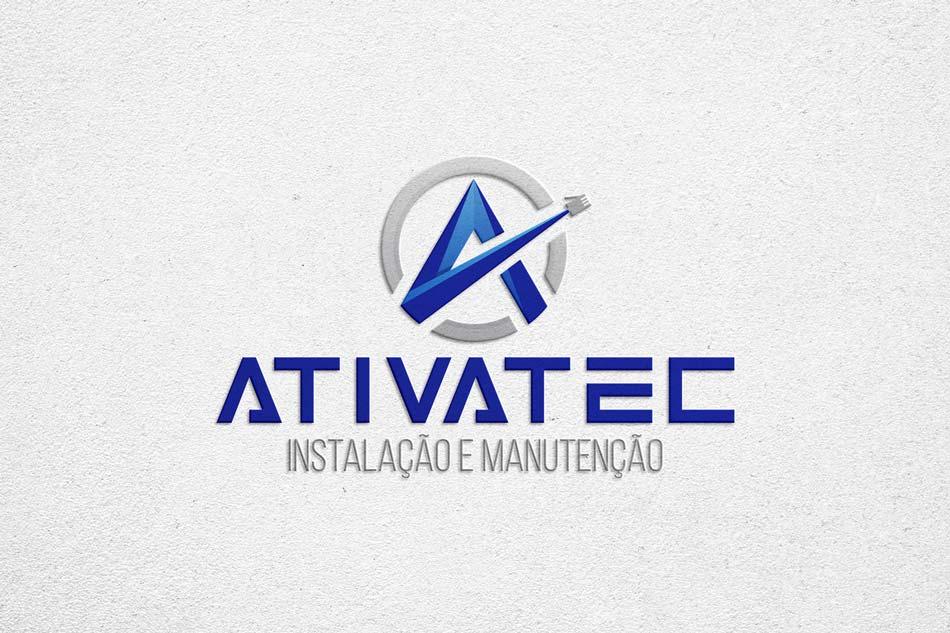 Criação de logomarca para empresa de instalação de equipamentos industriais e comerciais