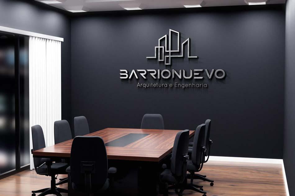Criação de logotipo para empresa de arquitetura e engenharia