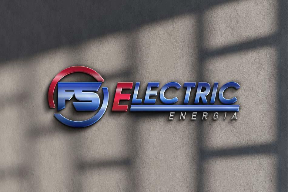 Criação de logotipo para empresa de energia