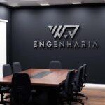 Criação de logotipo para empresa de engenharia WAJ Engenharia