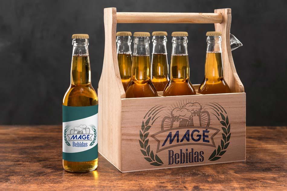 Criação de logotipo para empresa do ramo de bebidas