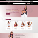Criação de loja virtual para loja de lingerie