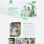 Criação de site para cuidadores de idosos