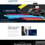 Criação de site para empresa de transportes